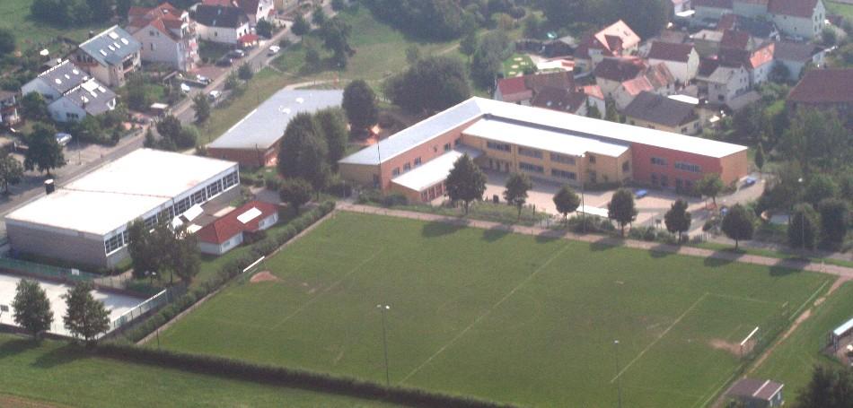 Luftbilder der Jim-Knopf-Schule